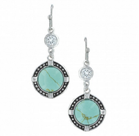 Montana Silversmiths True North Turquoise Earrings