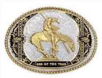 Montana Silversmiths End of Trail Buckle