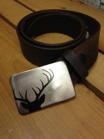 Gestalt Stainless Steel Buck Belt Buckle