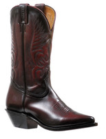Women's Boulet Black Cherry Snip Toe Western Boot