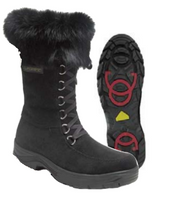 "Women's Barbo Flipgripz ""Jill"" Lace and Zipper Winter Boot"