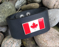 "CEOriginals Men's Cuff ""Canadian Flag"""