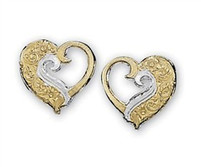 Montana Silversmiths Heart Earrings