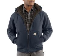 Men's Carhartt Collinston Brushed Fleece Sherpa-Lined Sweatshirt