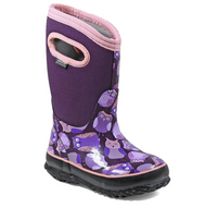 Kid's Bogs Classic Insulated Owl Purple Multi Rated -34C