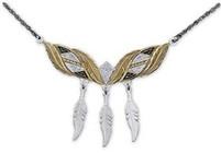 Montana Silversmiths Feather Choker