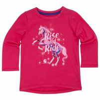 Girl's Carhartt Rise & Ride Horse Tee Shirt