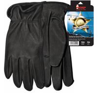 Watson Black Winter Range Rider Deerskin Glove
