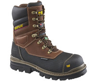 "Men's CAT Thermostatic Ice+ 8"" Waterproof Work Boot FREE SHIPPING"