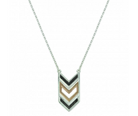 Montana Silversmiths Chevron Strength Necklace