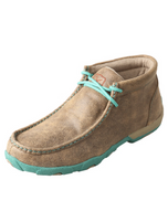 Women's Twisted X Driving Moccasins – Bomber/Turquoise