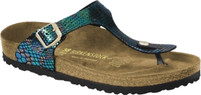 Birkenstock Gizeh Shiny Snake Multi-Coloured