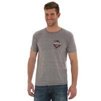 Men's Wrangler Grey Professional Bull Riders T-Shirt
