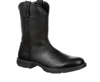 Men's Durango Rebel Black Round Toe Western Boot