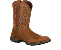 Men's Durango Rebel Waterproof Tan Round Toe Boot