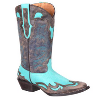 Women's Durango Dream Catcher Wingtip Western Collar Boot