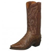 Men's Lucchese Franklin Tan Hornback  Western Boot