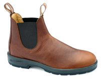 Blundstone Leather Lined Round Toe Pebbled Brown 1445 *Free Shipping*