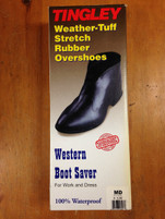 Tingley Rubber Overshoes for Western Boots
