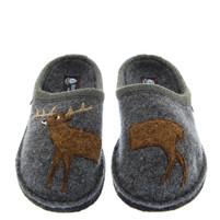 Haflinger Boiled Wool Soft Sole Deer Slippers