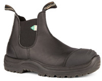 Blundstone 168 Black CSA Rubber Toe Cap Safety Boot *FREE SHIPPING
