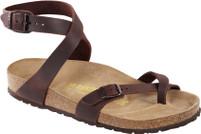Birkenstock Yara Oiled Havana Leather Sandal