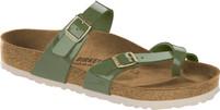 Birkenstock Mayari Khaki Patent Birko-Flor Sandal