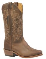Women's Boulet Brown Cutter Toe Western Boot