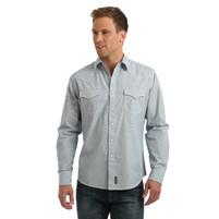 Men's Wrangler Retro Premium Railroad Stripe Western Shirt