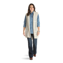 Women's Wrangler Sleeveless Sweater Duster