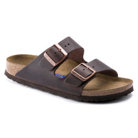 Birkenstock Arizona Havana Oiled Leather Soft Footbed FREE SHIPPING