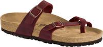 Birkenstock Mayari Zinfandel Oiled Leather Sandal