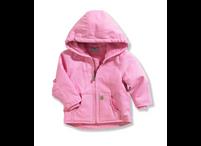 Kid's Carhartt Redwood Pink Sherpa Jacket (Toddler)