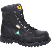 "CAT  8"" Confine Black Safety Boot"