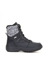 Women's Attiba 112 Black Winter Boot with FlipGrip Soles
