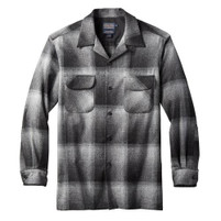 Men's Pendleton Charcoal Ombre Longsleeve Board Shirt