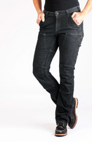 Women's Dovetail Britt Utility Cosy Black Denim Work Pant