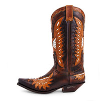 Sendra Boots Britnes FL. Marron Western Boot