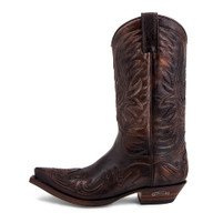 Sendra Boots 3241 Natur Antic Jacinto Pointed Toe Western Boot