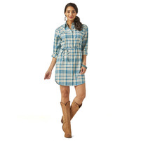 Women's Wrangler Western Plaid Dress