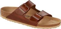 Birkenstock Arizona Antique Pull Up Cognac Leather