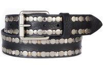 Brave Leather Chetan Studded Black Belt
