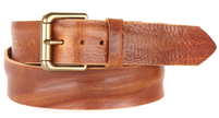 Brave Leather Venturi Cognac Skrunchy Belt