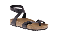 Birkenstock Yara Black Birko-Flor Sandal