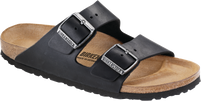 Birkenstock Arizona Oiled Black Leather Sandal FREE SHIPPING