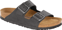 Birkenstock Arizona Oiled Black Soft Footbed FREE SHIPPING