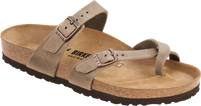 Birkenstock Mayari Tobacco Leather Sandal