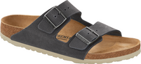 Birkenstock Arizona Steer Soft Gray Leather Sandal