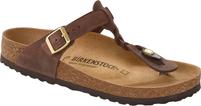 Birkenstock Gizeh Braided Habana Leather Sandal