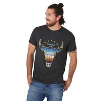Men's Wrangler Bison Print T-Shirt